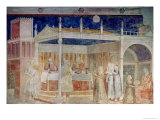 Herod's Banquet, from the Peruzzi Chapel Giclee Print by  Giotto di Bondone