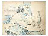 Woman Drinker, or the Hangover, 1889 Giclee Print by Henri de Toulouse-Lautrec