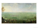 The Siege of Olmutz by the Prussian Army, 1758 Giclee Print by Franz Paul Findenigg