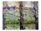 View of Arles, c.1889 Gicledruk van Vincent van Gogh