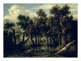 Landscape with an Oak, 1634 Giclee Print by Jan Josephsz. Van Goyen