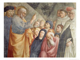 St. Peter Preaching in Jerusalem circa 1427 Giclee Print by Tommaso Masolino Da Panicale
