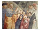 St. Peter Preaching in Jerusalem circa 1427 Giclee Print by Tommaso Masolino Da Panicale