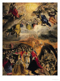 The Adoration of the Name of Jesus, circa 1578 Giclee Print by  El Greco