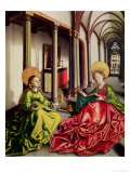 St. Mary Magdalene and St. Catherine of Alexandria Giclee Print by Konrad Witz