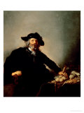 The Miser Giclee Print by Hendrick Gerritsz Pot