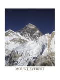 Mt Everest Summit Fotografie-Druck von AdventureArt 