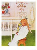 Lisbeth with a Yellow Tulip Giclee Print by Carl Larsson
