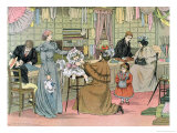 "The Haberdasher, from ""The Book of Shops"", 1899 Giclee Print by Francis Donkin Bedford"