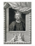 John King of England from 1199, Engraved by the Artist Lámina giclée por George Vertue