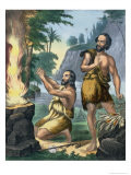 The Sacrifice of Cain and Abel, from a Bible Printed by Edward Gover, 1870s Giclee Print by Siegfried Detler Bendixen