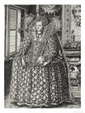 Portrait of Elizabeth I Giclee Print by William Rogers