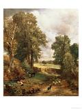 The Cornfield, 1826 Giclée-tryk af John Constable