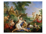The Triumph of Bacchus Giclee Print by Charles Joseph Natoire