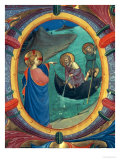 "The Calling of St. Peter and St. Andrew, Detail of Historiated Initial ""O"" from a Missal, 1430s Giclee Print by  Fra Angelico"