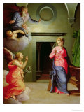 The Annunciation Giclee Print by Agnolo Bronzino