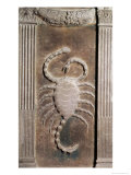 Scorpio Represented by the Scorpion Giclee Print by Agostino Di Duccio