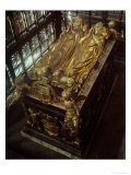Tomb of Henry VII and His Wife, Elizabeth of York, 1518 Giclee Print by Pietro Torrigiano