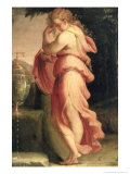 Artemisia Grieving Over Mausolus Giclee Print by Francesco Salviati