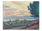 St. Tropez, Pinewood, 1896 Giclee Print by Paul Signac