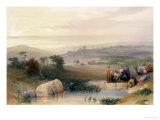 "Jerusalem, April 1839, Plate 22 from Volume I of ""The Holy Land"", Pub. 1842 Giclee Print by David Roberts"