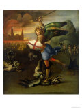 St. Michael, circa 1503-05 Reproduction proc&#233;d&#233; gicl&#233;e par Raphael 