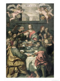 The Last Supper Giclee Print by Daniele Crespi