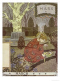 March Giclee Print by Eugene Grasset