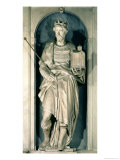 Edward the Confessor Niche from the Salviati Chapel Giclee Print by  Giambologna