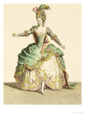Costume for Venus in Several Operas, Engraved by the Artist, circa 1780 Giclee Print by Jean Baptiste Martin