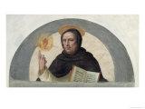 Saint Vincent Ferrer Giclée-tryk af Fra Bartolommeo