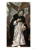St.Dominic of Guzman Giclee Print by  El Greco