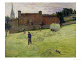 Haymaking in Brittany, 1888 Giclee Print by Paul Gauguin