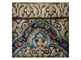 Moulded Frieze Tile Made for the Palace of the Mongol Sultan Abaqa Khan, circa 1270-75 Giclee Print