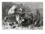Emigration to the Western Country Giclee Print by Felix Octavius Carr Darley