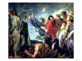 Moses and the Brazen Serpent Giclée-Druck von Sir Anthony Van Dyck