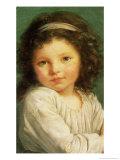 Portrait of Caroline Lalive de La Briche, 1786 Giclee Print by Elisabeth Louise Vigee-LeBrun