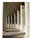 Tomb of Unknown Solider Amphitheater Columns Giclee Print by April Sims