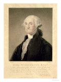 Portrait of George Washington 1st President of the United States Lmina gicle por Gilbert Stuart