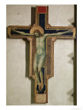 Crucifix from the Chapel of Isotta Degli Atti, circa 1312 Giclee Print by  Giotto di Bondone