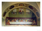 The Last Supper Giclee Print by  Andrea del Sarto