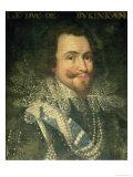Portrait of George Villiers, 1st Duke of Buckingham Giclee Print by Jean Mosnier