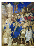 Christ Carrying the Cross Giclee Print by Jacquemart De Hesdin