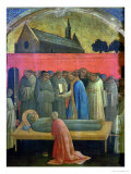 The Death of St. Francis Giclee Print by Lorenzo Monaco
