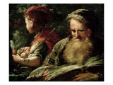 Youth and Age Giclee Print by Abraham Bloemaert