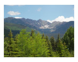 Gore Range, Vail, Colorado Photographic Print by Jeff Knowlton