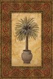Palm Mosaic II Print by Nicholas Santori