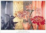 Trois zinnias Posters par Robert Kushner
