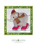 Chilly Winter Print by Isabelle Deguern