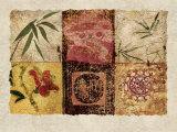 Oriental Medley I Prints by Gene Ouimette